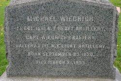 Col Michael Wiedrich