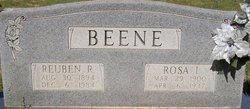 Rosa Isabell <i>Moore</i> Beene