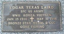 Edgar Texas Laird