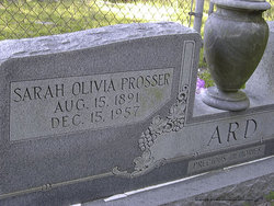 Sarah Olivia <i>Prosser</i> Ard
