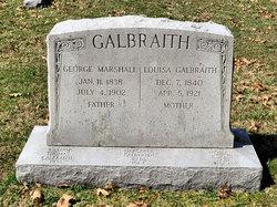 George Marshall Galbraith