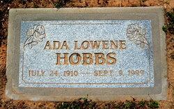 Ada Lowene Hobbs