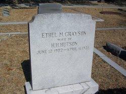 Ethel m <i>Grayson</i> Hutson