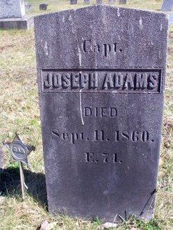Capt Joseph Adams