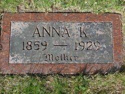 Anna Kajsa <i>Johnson</i> Erickson