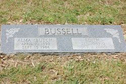 Edith <i>Womack</i> Bussell