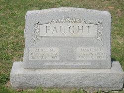 Marion Franklin Faught