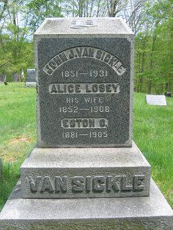 Alice <i>Losey</i> Van Sickle