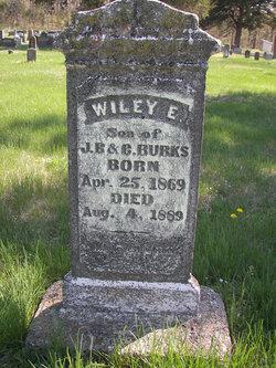 Wiley E Burks