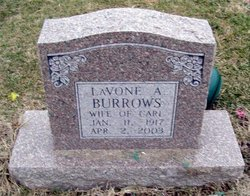 LaVone A. <i>Lindsey</i> Burrows
