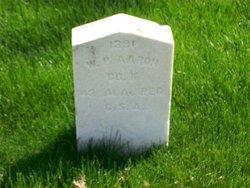Pvt William P. Aaron