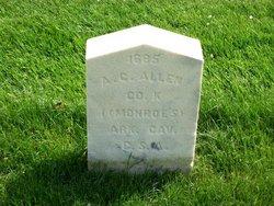 Pvt A. C. Allen