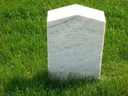 Pvt John D. Atkinson