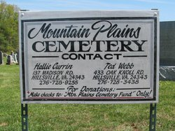 Mountain Plains Cemetery