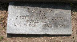Sgt Sam Lewis