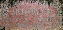 Ernest Rudolph Anderson, Sr