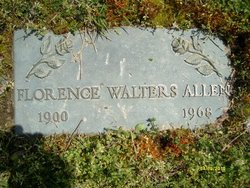 Florence <i>Walters</i> Allen