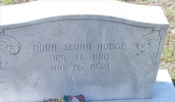 Nora Bell <i>Sloan</i> Hodge