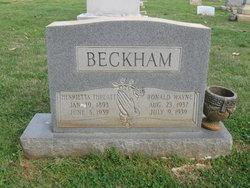 Henrietta A <i>Threatt</i> Beckham