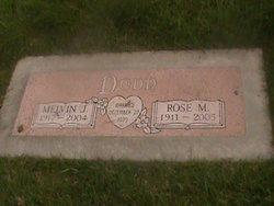 Rose M <i>Buettgenbach</i> Dodd