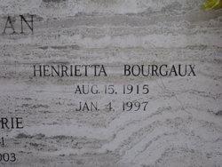 Henrietta <i>Bourgaux</i> Petitjean
