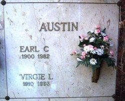 Virginia Leona Virgie <i>Harned</i> Austin