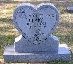 Florence <i>Jones</i> Clary