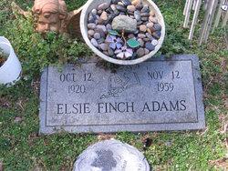 Elsie <i>Finch</i> Adams