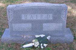 Cormelia <i>Thomas</i> Baird