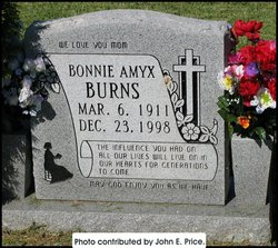 Bonnie Jane (Amyx) <i>Shaw</i> Burns