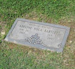 Adeline Nola Addie <i>Schmeer</i> Bartlett