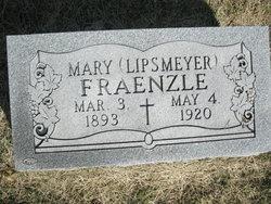 Mary <i>Lipsmeyer</i> Fraenzle