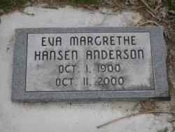Eva Margrethe <i>Hansen</i> Anderson