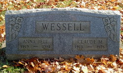 Anna Bell <i>Evans</i> Wessell