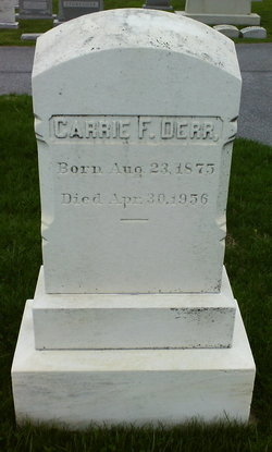 Carrie F. Derr