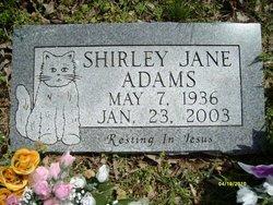 Shirley Jane Adams