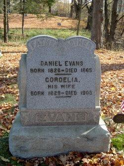Cordelia <i>Allen</i> Evans