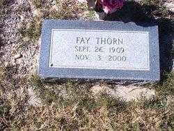 Eva Fay <i>Appel</i> Thorn