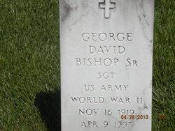 Sgt George David Bishop, Sr