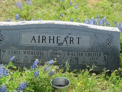 Walter Chester Airheart