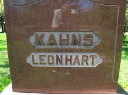 Vera V. <i>Kahns</i> Leonhart