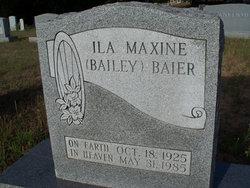 Ila Maxine <i>Bailey</i> Baier