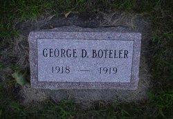 George D Boteler