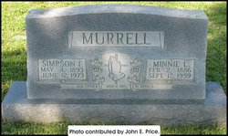 Minnie Lee <i>Price</i> Murrell