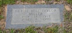 Nettie Bell <i>Taylor</i> Miller