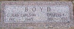 C Jean <i>Carlson</i> Boyd