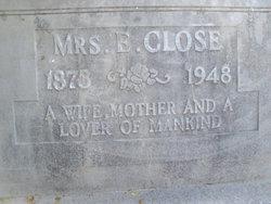 Mary Louvenia <i>Patton</i> Close