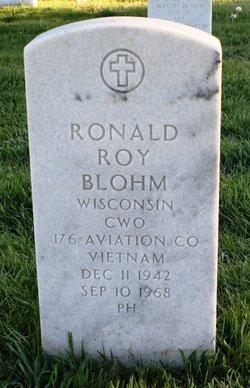 WO Ronald Roy Blohm