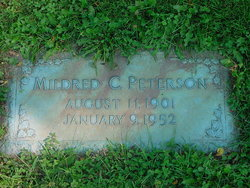 Mildred <i>Cosgrave</i> Peterson