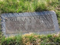 Malissa A <i>Walker</i> Atkins